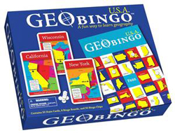 GeoBingo - USA Maps / Geography
